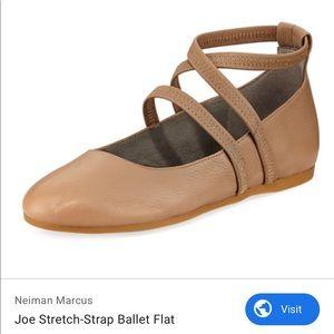 New Eileen Fisher Joe Ballet Leather Flats 8 1/2
